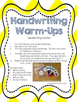 Sample FREEBIE!  2 Literacy Center Activities