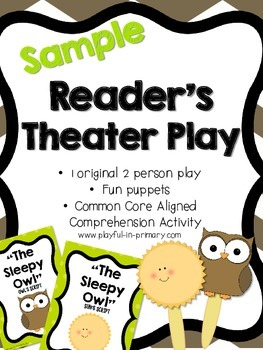 Sample FREEBIE!  Original Reader's Theater Play for Litera