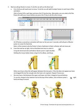 Sample Flash CS5 or CS6 Activity