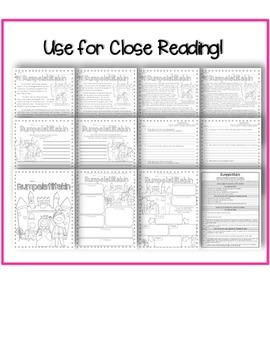 Close Reading Stories w/ Common Core Aligned Text Based Questions