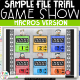 Sample Game Show PowerPoint Test File