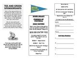 Sample Golf Outing Fundraiser Registration