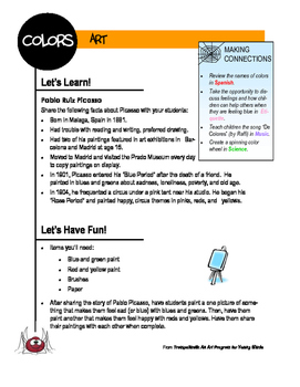 Sample Integrated Lesson Plan from Trampoline