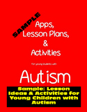 Sample: Lesson Ideas & Activities for Young Children with Autism
