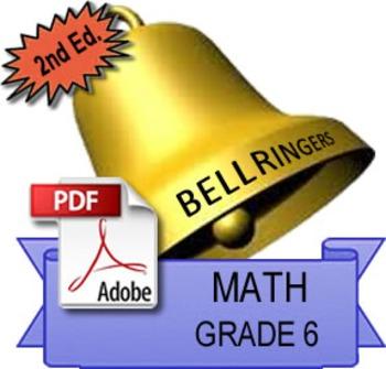 Sample: Math Bellringers: Grade 6