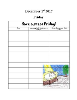 Sample Month of December in The Ultimate Kindergarten Experience