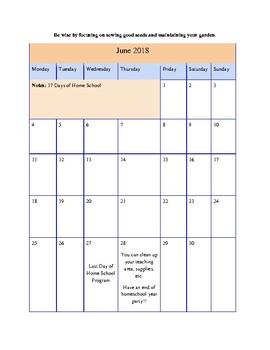 Sample Month of June in The Ultimate Kindergarten Experience