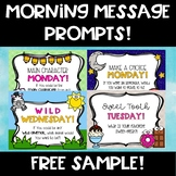 Sample Morning Message Prompts!