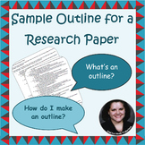 Sample Outline for a Research Paper