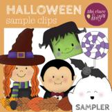 Halloween Clip Art Set [Sample Freebie]