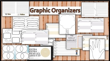 Mini-pack: GraphicOrganizers Reading AND WRITING