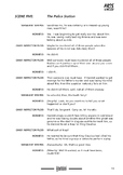 Drama play script sample pages: Hamlet, the Murder Mystery (Shakespeare)