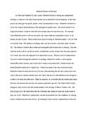 Sample Paragraph/Essay- Elizabeth Bennet