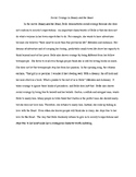 Sample Paragraph/Essay- Characterization in Beauty and the Beast
