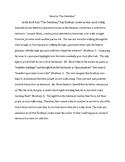 Sample Paragraph/Essay- Mood