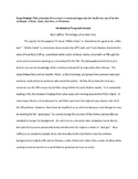 Sample/Model Introduction Paragraph