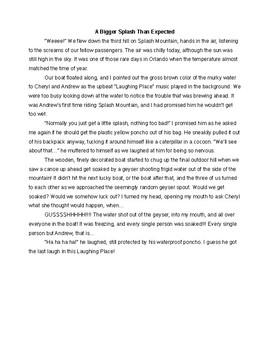 Sample Personal Narratives (Exemplars)