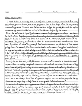 sample persuasive essay 2 staar format eoc - Novel Essay Example