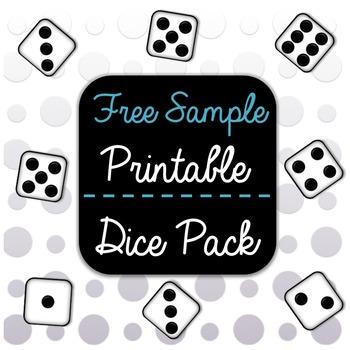 Sample Printable Dice Pack