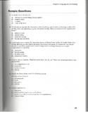 Sample Questions for the K-6 Subject Area Exam