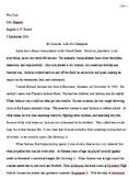 Sample Research Paper; Topic:  Bo Jackson