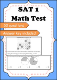 Sample SAT Math multiple choice test with answer key