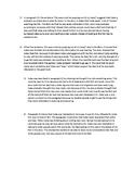 Sample Short Response Answers for Student Scoring - Grade 4 Test Passage