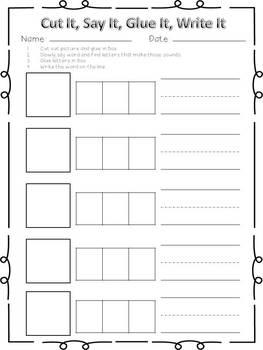 Sample Short i Word Family Centers Bundle: CVC Bingo, Spinner, Sorting, & MORE!