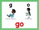 Sample Sight Word Workout Challenge