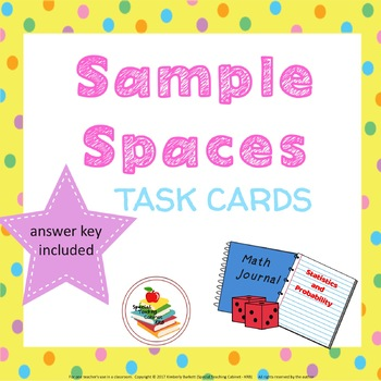 Sample Space Task Cards