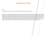 Sample Space (tree diagram) introduction activity