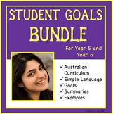 Sample Student Distance Learning Goals: Australian Curricu