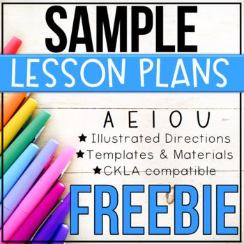 Sample Phonics Mini Lessons