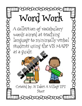 PREVIEW: Word Work 1