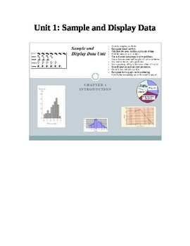 Sample and Display Data Unit
