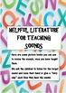 Sample creative phonics lesson plans and literature to teach phonics