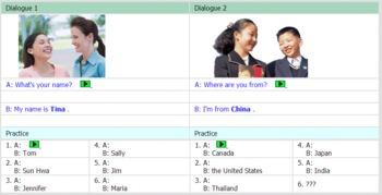 Sample for Online Complete ESL Beginner/High Beginner Course
