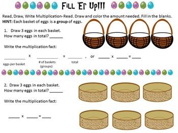 Distance Learning FREE Sample from Jelly Bean Shish-Ka-Bob Multiplication