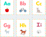 Sample of Colorful Pineapple Classroom Letters