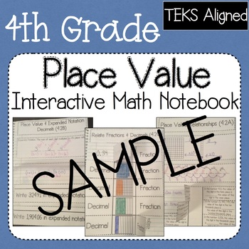 Sample of Supplemental Worksheets for the Place Value Interactive Notebook