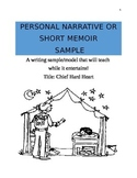 Sample or Teaching Model of a Personal Narrative or Person