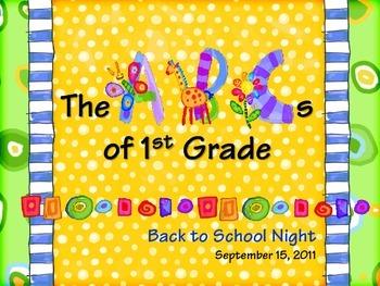Sampleabcs of 1st grade back to school night powerpoint tpt sampleabcs of 1st grade back to school night powerpoint toneelgroepblik Images
