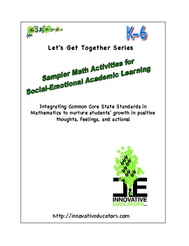 Sampler Math Activities for Social-Emotional Academic Learning