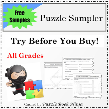 Try Before You Buy - Unique Sampler Puzzles Collection