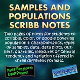 Samples & Populations Scribb Notes