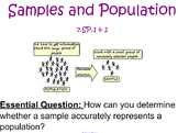 Samples and Population