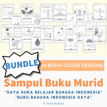Sampul Buku Bahasa Indonesia BUNDLES (Indonesian Book Covers)