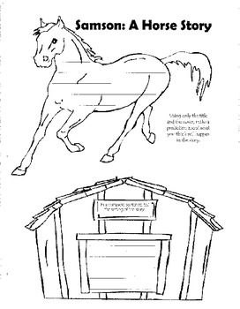 Samson: A Horse Story Guided Reading Packet
