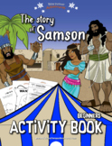 The story of Samson Activity Book: Kids Ages 3-5