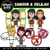 Samson and Delilah Clip Art